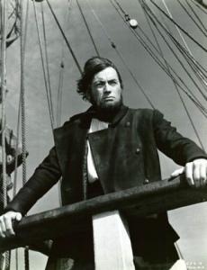 Ahab on the deck