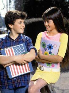 Fred Savage and Danica McKellar