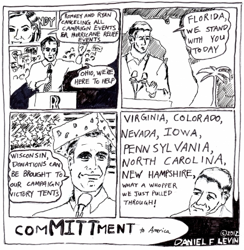 Mr. Romney's very thin veil
