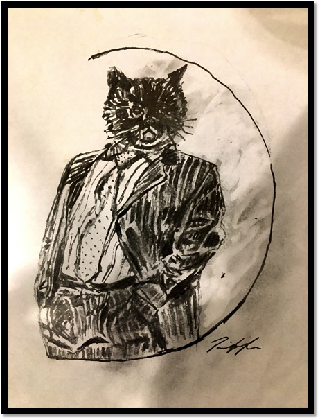 CatInSuit_Painting